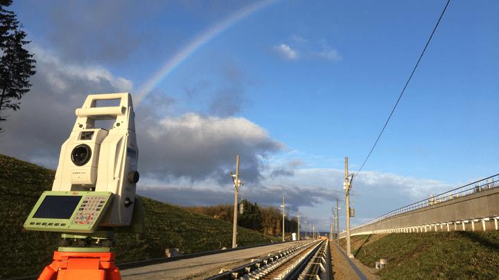 Vermessungsarbeiten, Geoinformatik und Geomonitoring für die Neubaustrecke der Bahnlinie Stuttgart–Ulm