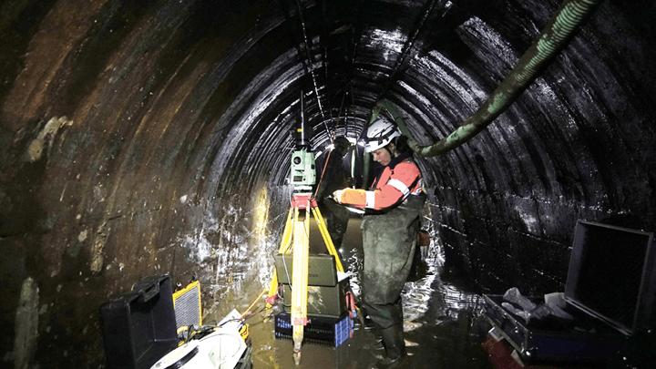 Vermessung und das Geomonitoring von Bunkeranlagen